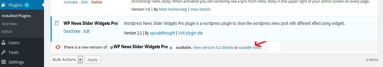 WP News Slider Widgets Pro - 4