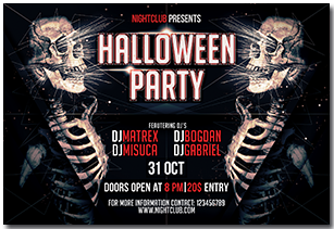 Halloween Party Flyer - 16