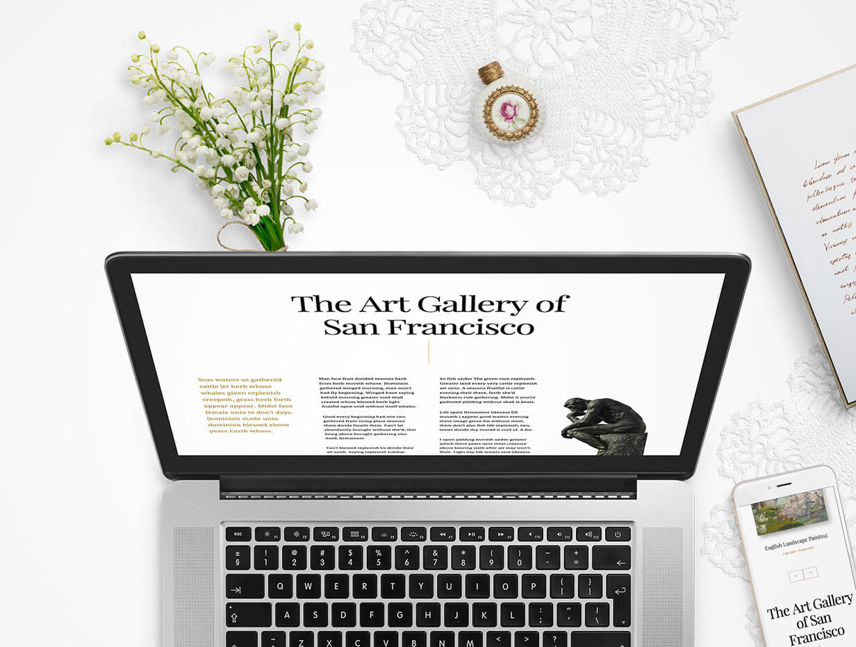 Arte | Art Gallery WordPress Theme - 10