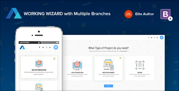 REVIEWER - Rating and Review Wizard HTML Template - 2