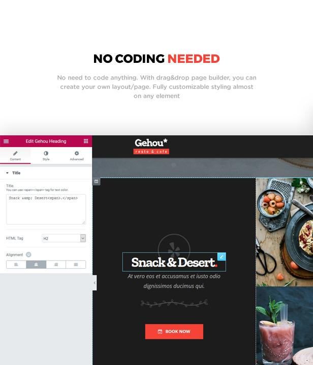 Gehou - A Modern Restaurant & Cafe Theme - 3