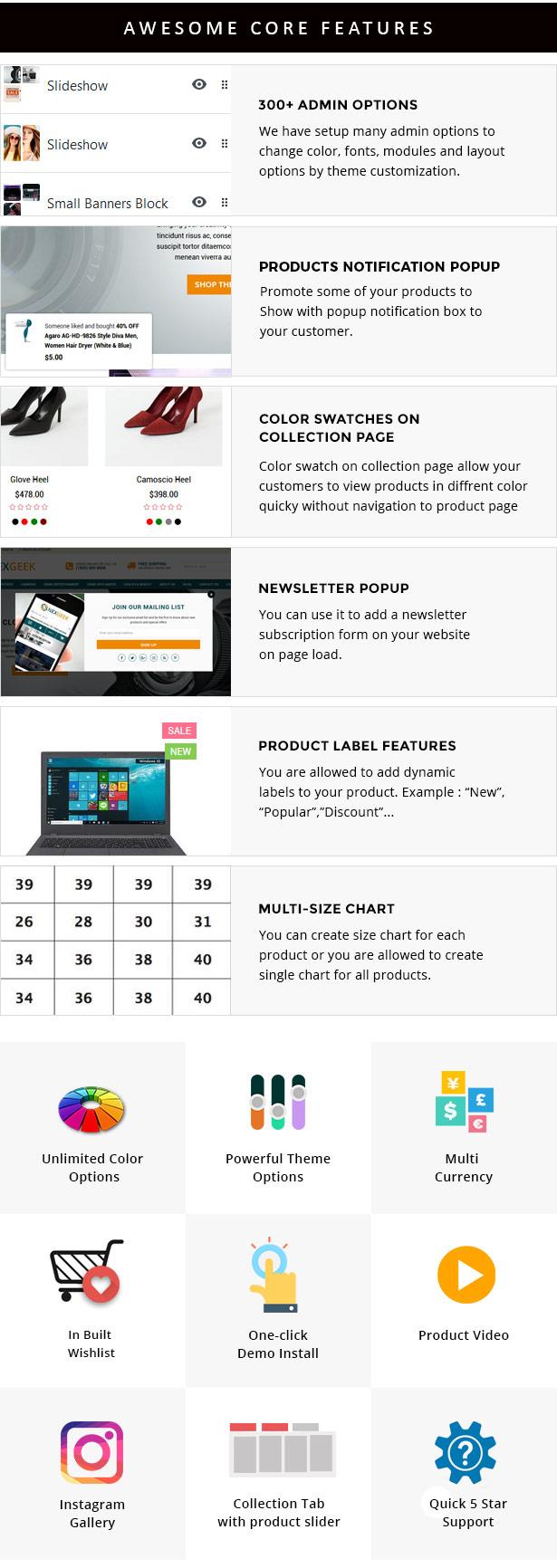 multipurpose resposive shopify theme