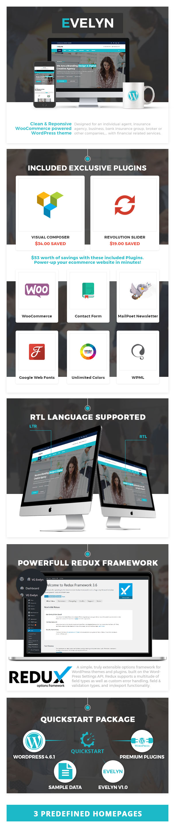 VG Evelyn - Multipurpose Business and Agency WordPress Theme by ...