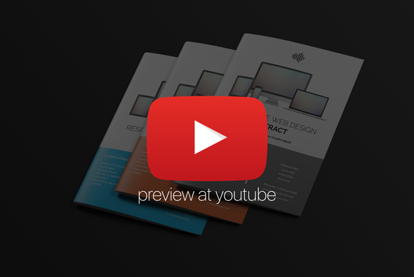 You Tube Preview of Real Web Design Contract