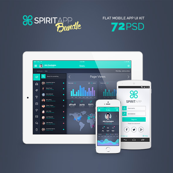 SpiritApp UI Kit Bundle