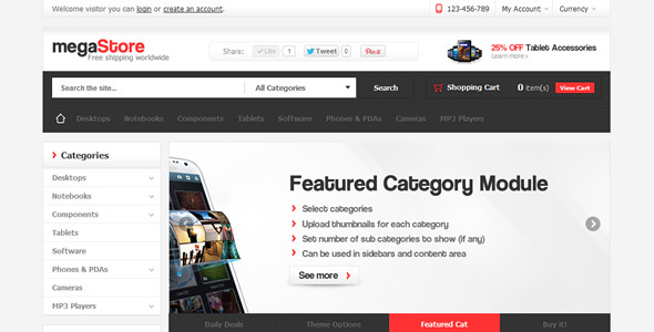 Featured Categories - Opencart - 1