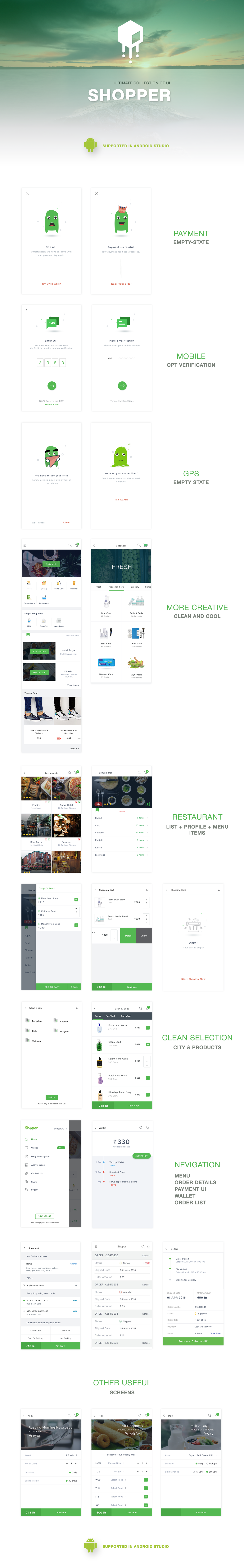 Shopper UI KIT