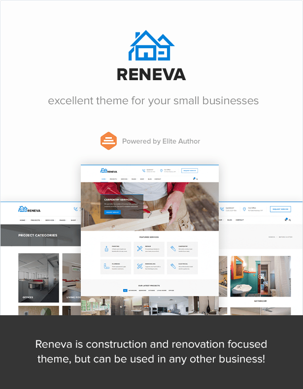 Reneva -  Small Business HTML Template - 2