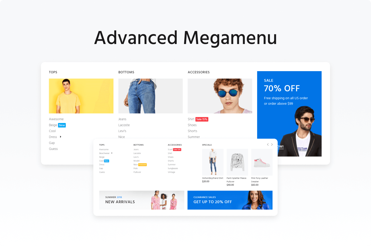 Wokiee - Multipurpose Fashion Magento Theme - 9