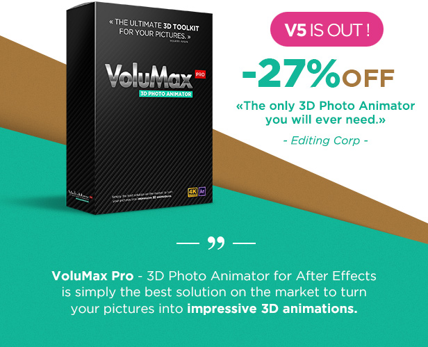 VoluMax - 3D Photo Animator - 1