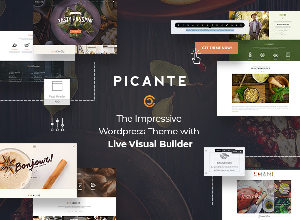 Picante - Restaurant & Food WordPress Theme by code-less