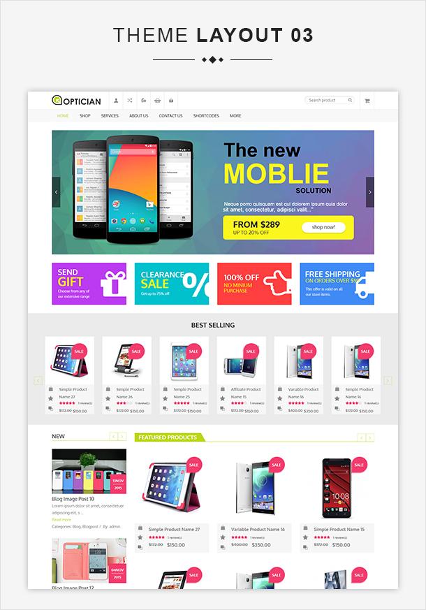 VG Optician - Responsive eCommerce WordPress Theme - 8