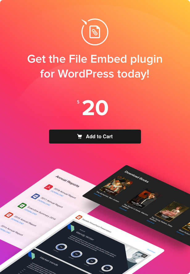 File Viewer - WordPress File Embed Plugin - 4