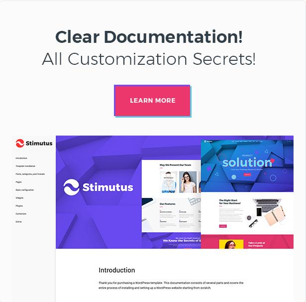 Stimutus - Creative Multihome Elementor Based WordPress Theme - 9