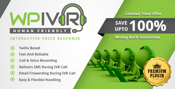 Wordpress Interactive Voice Response Plugin IVR