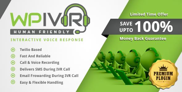 Wordpress Interactive Voice Response Plugin IVR
