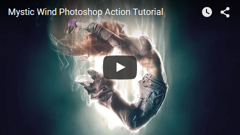 Mystic Wind Photoshop Action - 7