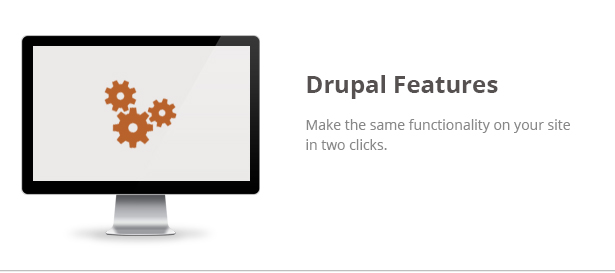 Blitz Theme Features: Drupal Features