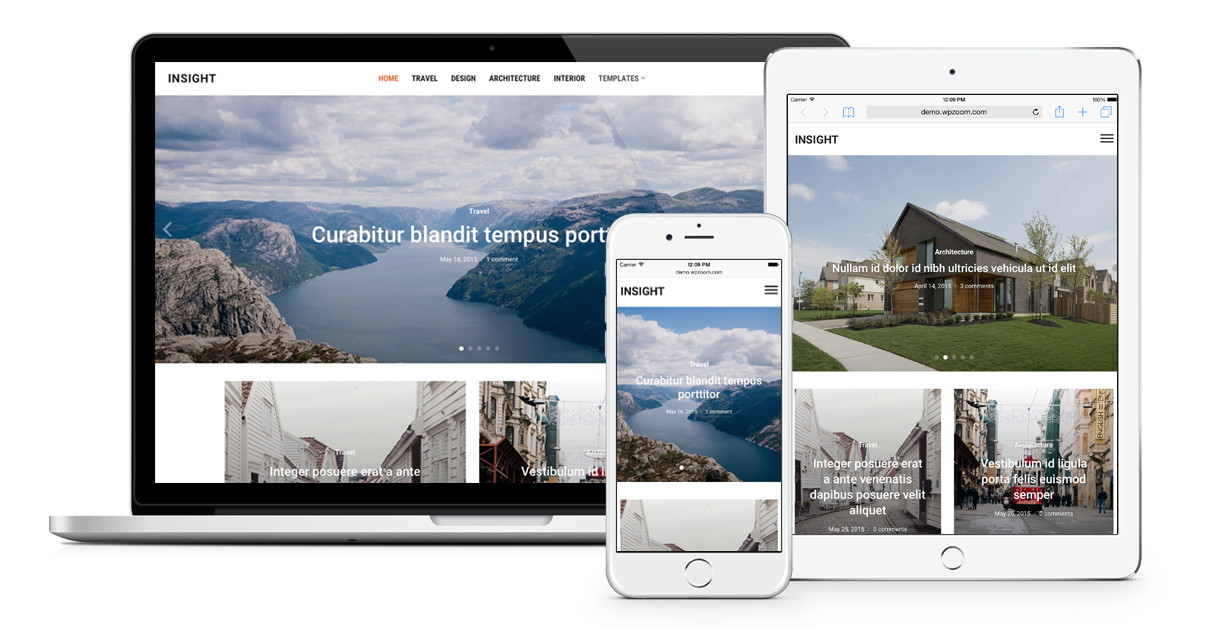 Insight Responsive Magazine Theme