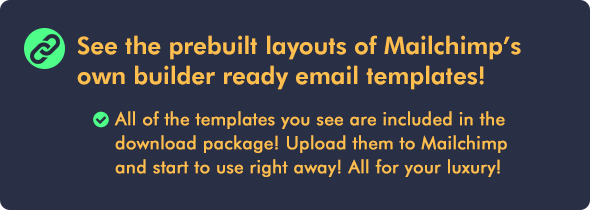 Responsive Email Builder RESPONSIBLE Email Marketing Newsletter - Luxury ignite template scheme