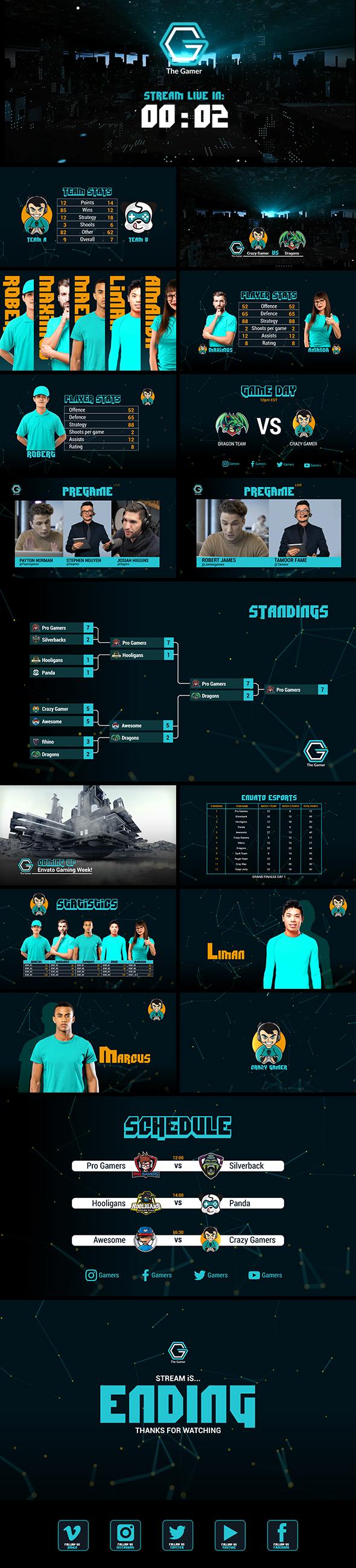 Gamer Esport Broadcast Package - 5