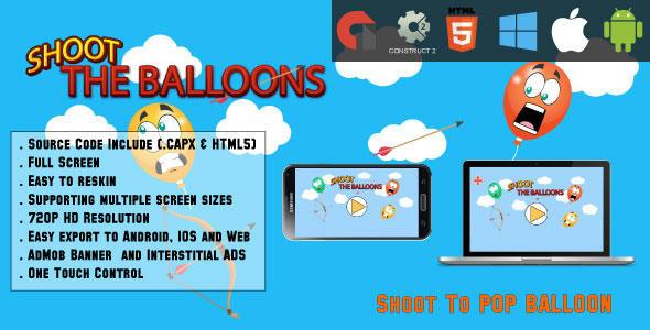 ballon pop fuld skærm