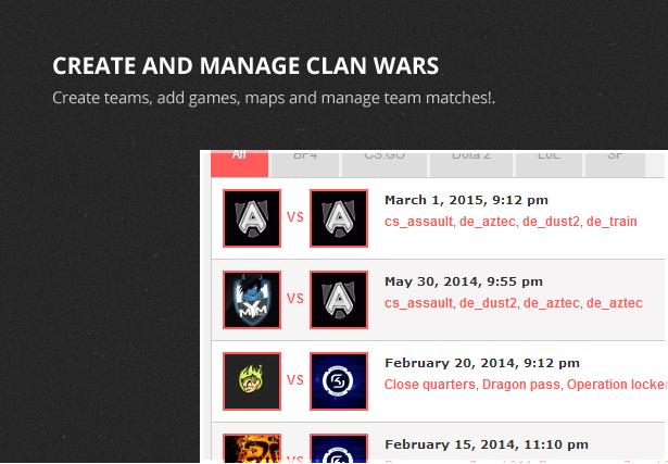 Clan War Gaming Template - 3