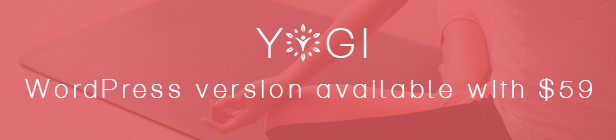 Yogi Health Beauty Yoga WordPress theme
