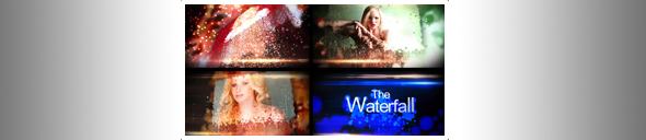 The waterfall - preview banner