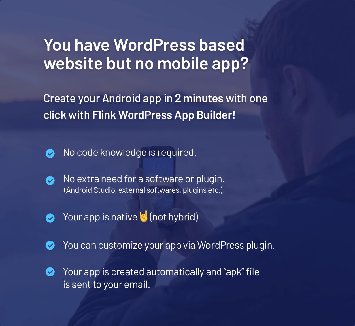 Flink - WordPress App Builder (Auto WordPress to Native Android App)   Ultimate Admin Panel - 1