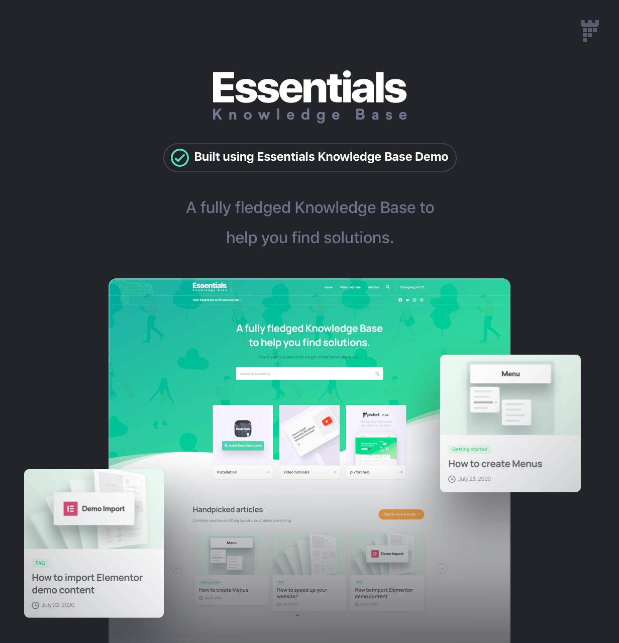 Essentials | Multipurpose WordPress Theme - 84