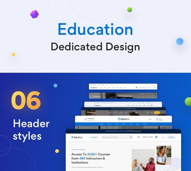 EduMall - Professional LMS Education Center WordPress Theme - 25