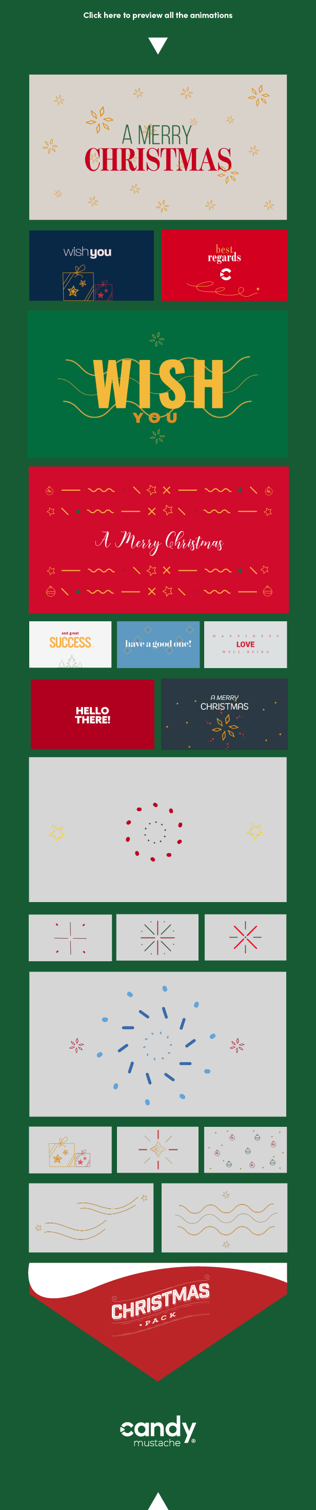 Christmas Pack   After Effects and Premiere Pro - 8