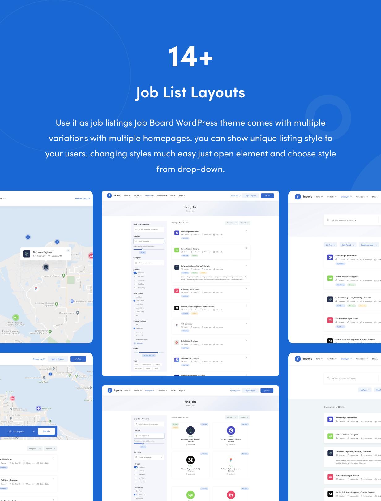 Superio – Job Board WordPress Theme - 7