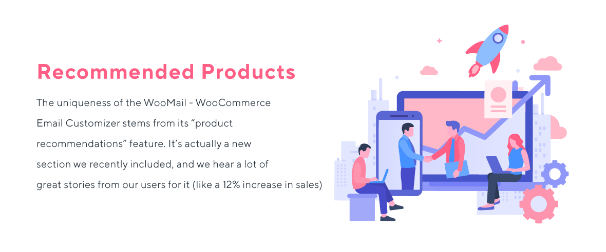 woomail-woocommerce email customizer product Recommendations