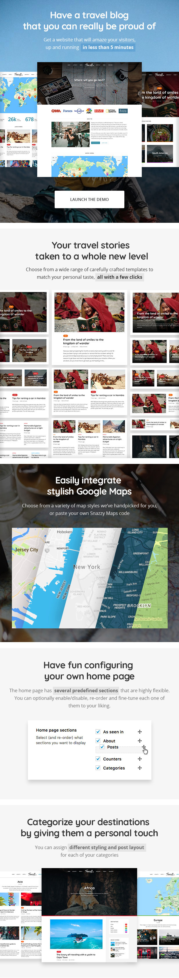 Trawell - WordPress travel theme