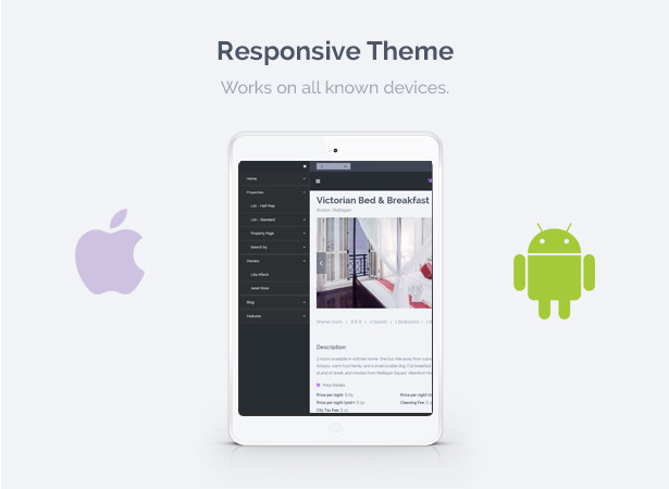 wprentals presentation responsive