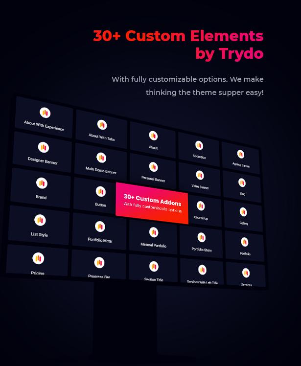 Trydo v1.0.0-Creative Agency&Portfolio WordPress主题插图34