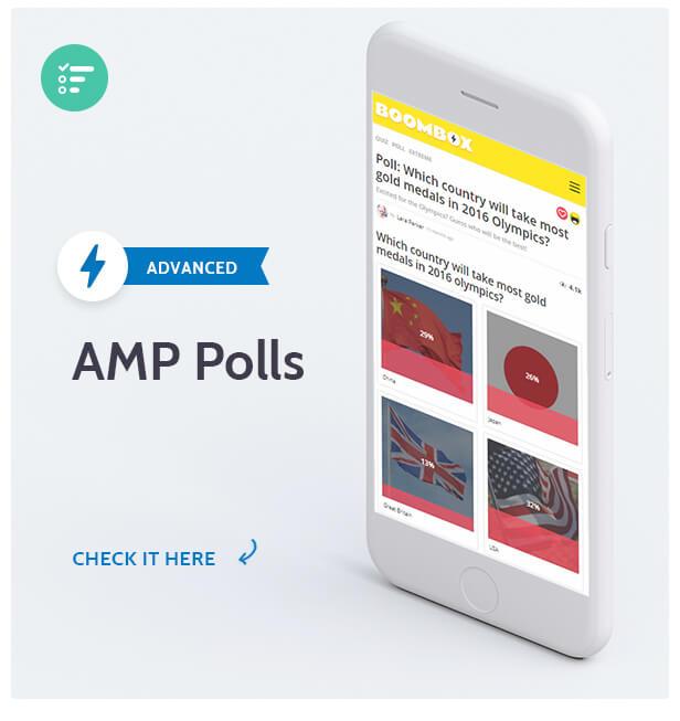 Boombox AMP Polls