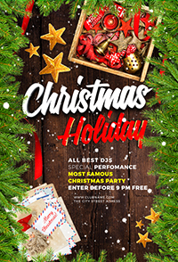 Christmas Holiday Flyer V3 - 13