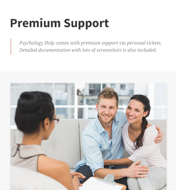 Psychology Help - Medical WordPress Theme for Psychologist and Mental Therapy