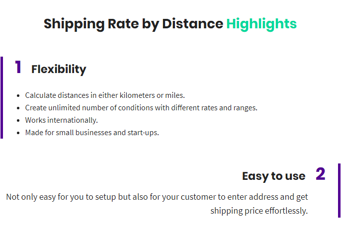 Versandkosten nach Entfernung für WooCommerce - 1