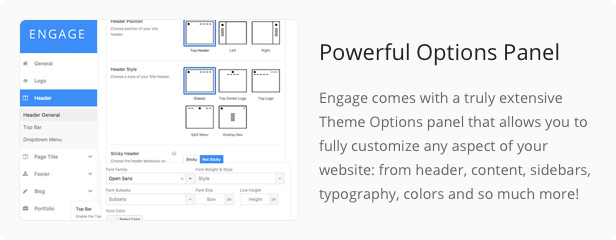 Engage - Responsive Multipurpose WordPress Theme - 24