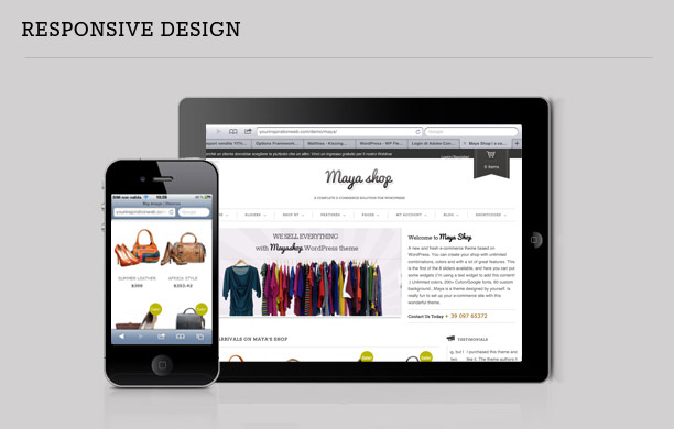 MayaShop - A Flexible Responsive e-Commerce Theme - 3