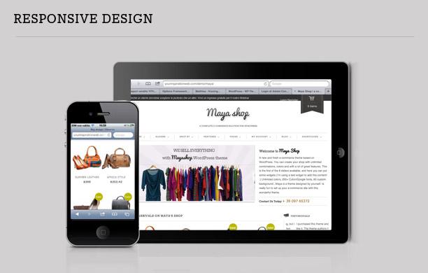 MayaShop - A Flexible Responsive e-Commerce Theme - 3