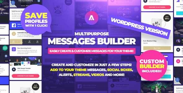 Asgard - Sosyal Medya Uyarılar ve Yemler WordPress Oluşturucu - Facebook, Instagram, Twitch ve Daha! - 8