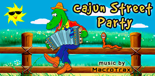 Cajun Street Party ~ Music by MacroTrax