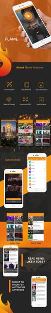 Flame Mobile Bundle Applications  Viral Media /News/Music/Video /Quizzes Script - 2