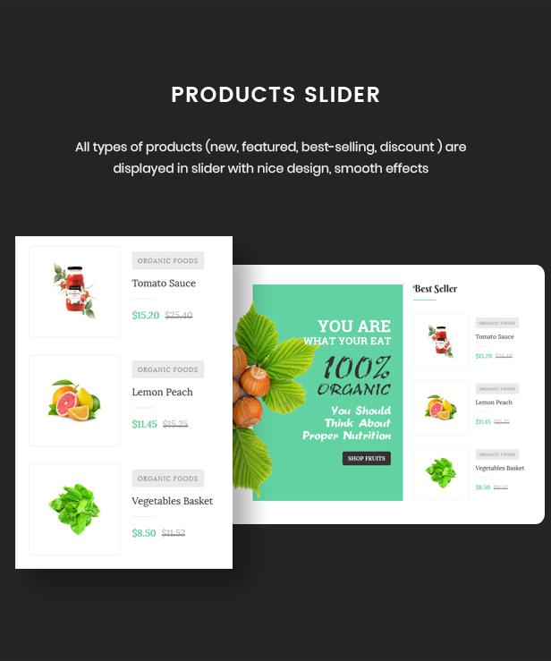 Selena - Organic Food Store Theme for WooCommerce WordPress 46