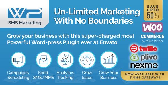Wordpress SMS Marketing Plugin